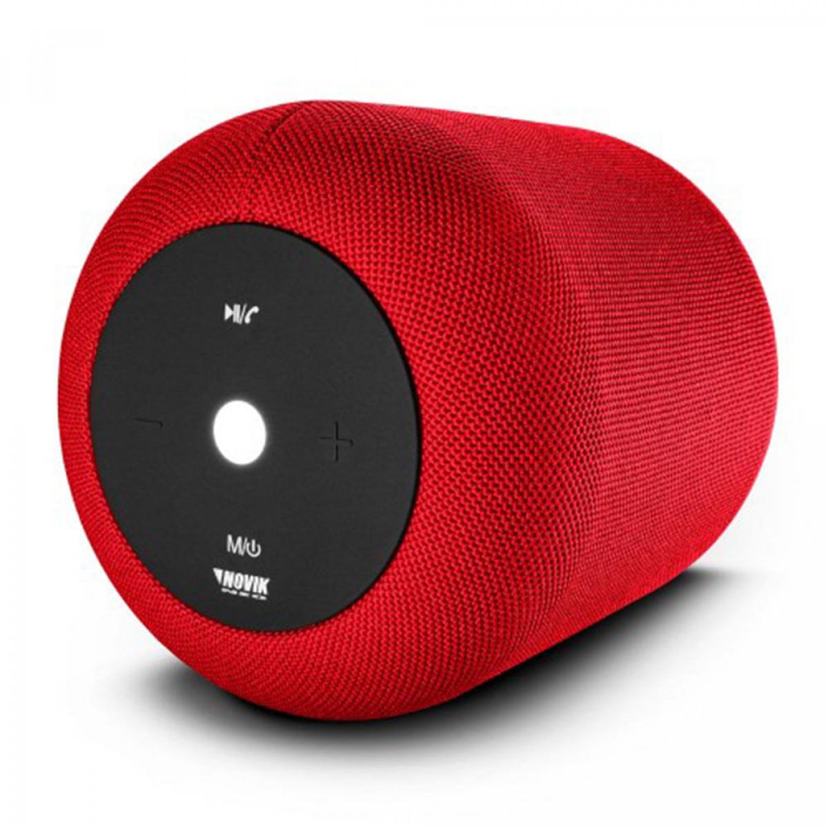 Caixa de Som Smart com Bluetooth e Bateria Novik Neo Start XL Vermelha