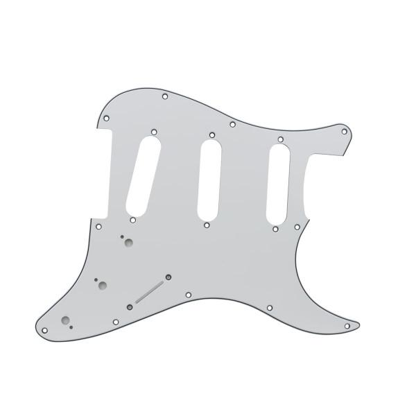 Escudo Guitarra Strato Sss (3s) Branco Wave Nst02-111/WH