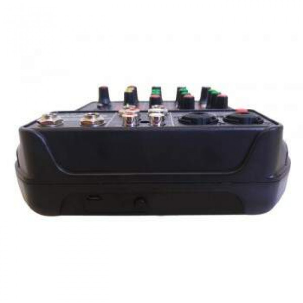 Mesa de Som Soundvoice Mc4-Bt Bluetooth Bivolt Usb Mixer