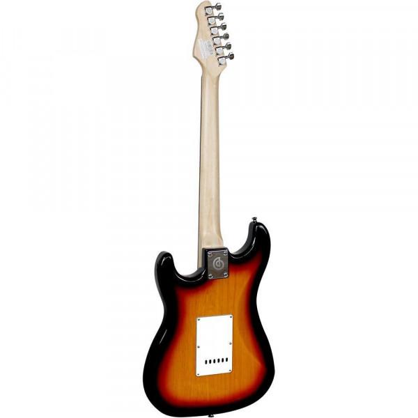 Guitarra Stratocaster Giannini G100 3TS/WH Sunburst