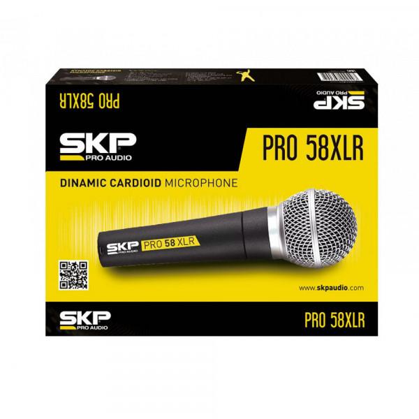 Microfone com Fio SKP PRO 58 XLR