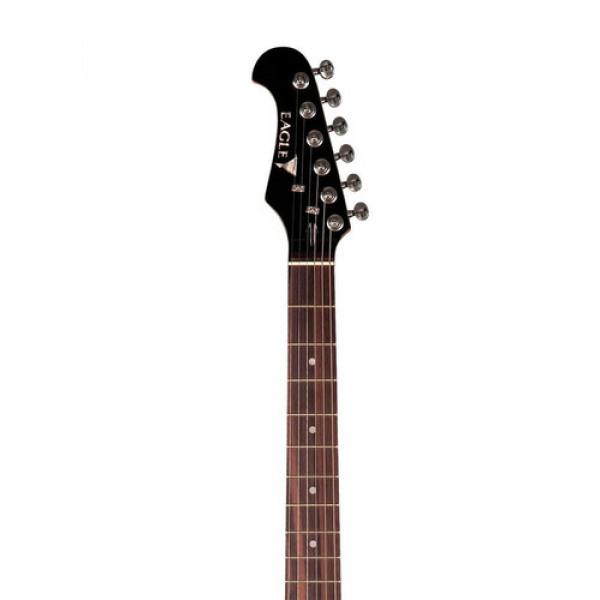 Guitarra Eagle Sts 002 Lh Stratocaster Canhoto Sunburst