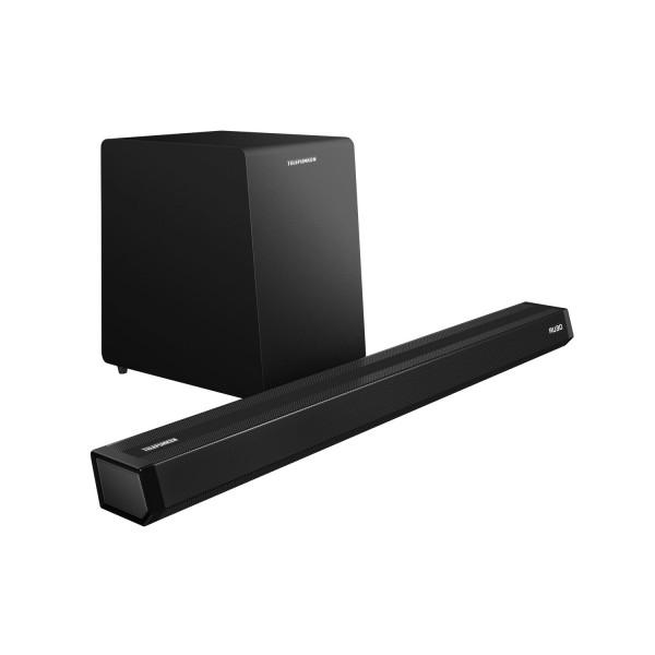 Soundbar Telefunken 2.1 Com Subwoofer Sem Fio Polaris 900