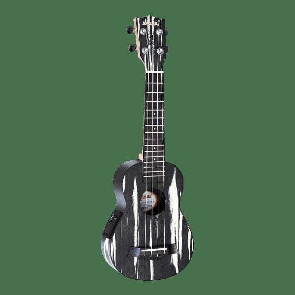 Ukulele Akahai Ronsani KO-21E Elétrico Soprano c/ Bag