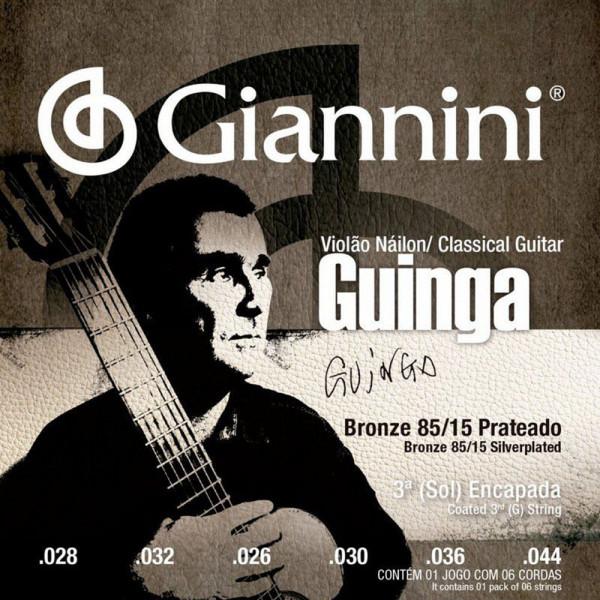Encordoamento Giannini P/ Violão Nylon Guinga Sscgg
