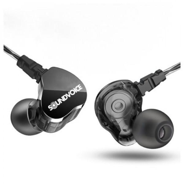 Fone In-ear Retorno De Palco Soundvoice Ie-01 Profissional
