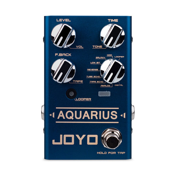 Pedal JOYO multi-model delay Aquarius