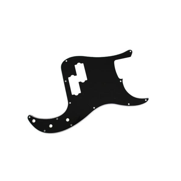 Escudo Contra Baixo Precision Bass Preto Wave NPB-01/BK