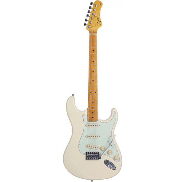 Guitarra Elétrica Tagima TG-530 Stratocaster Woodstock Olympic White Série TW
