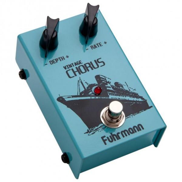 Pedal Fuhrmann Vintage Chorus Vc01 C/ Nfe; Envio 24 Hrs Cor:Azul